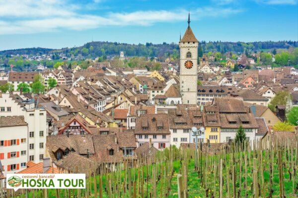 Historické město Schaffhausen