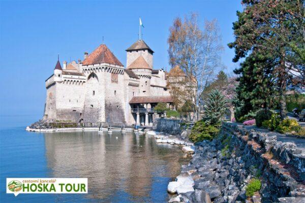 Hrad Chillon – Švýcarsko