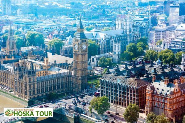 Londýn – výhled z London Eye