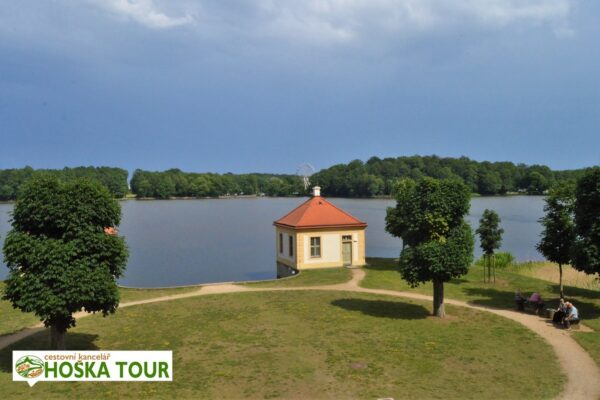 Moritzburg – jezero u zámku