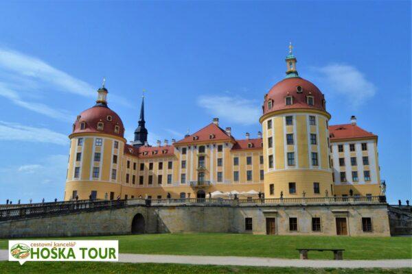 Zámek Moritzburg v Sasku