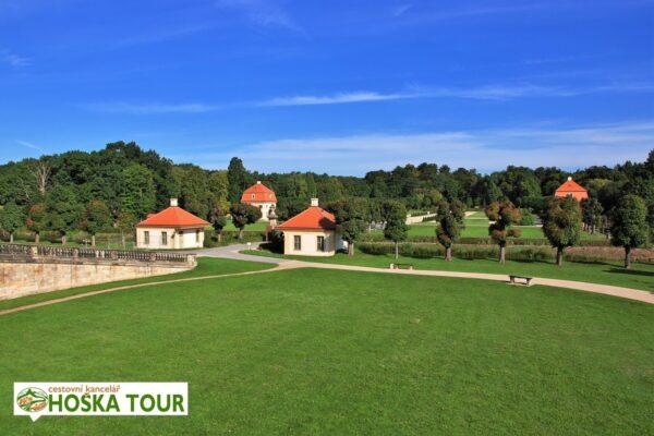 Zámek Moritzburg – zámecký park