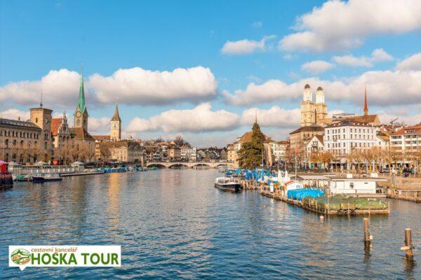 Zurich – řeka Lammat