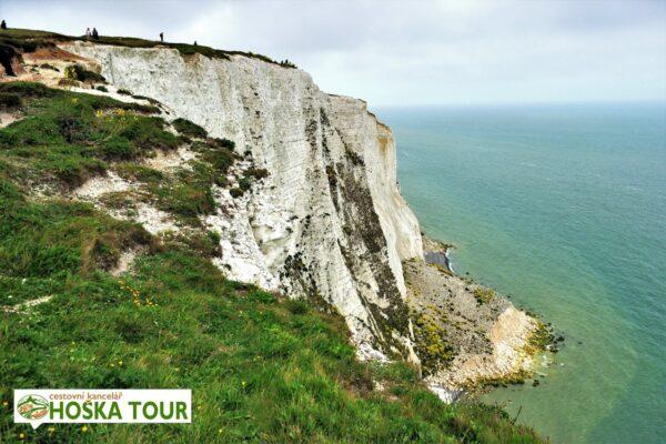 Bílé útesy u Doveru – zájezdy pro školy do Anglie