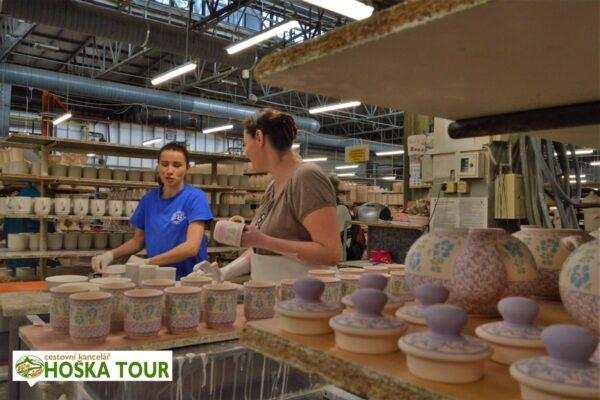 Bolesławiec – exkurze do výroby keramiky