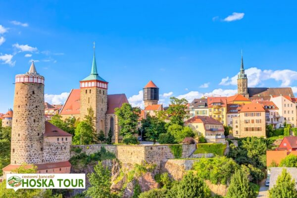 Budyšín a hrad Ortenburg