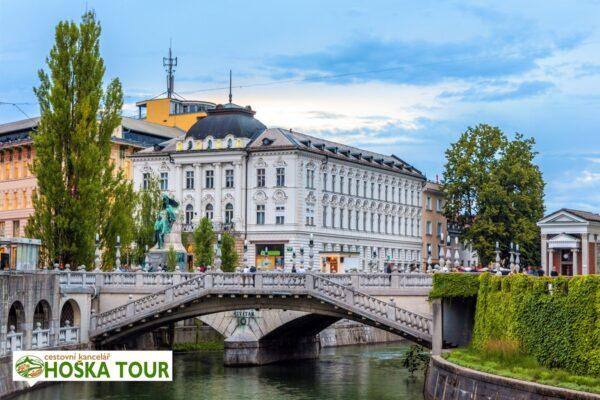 Centrum Lublaně – Slovinsko pro školy