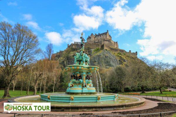 Edinburgh Castle – hrad nad městem