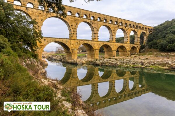 Francie – most Pont du Gard