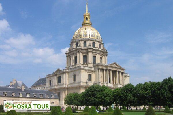 Invalidovna v Paříží – školní zájezdy do Francie