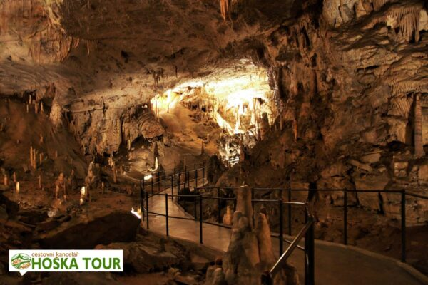 Jeskyně Postojna Jama ve Slovinsku – prohlídka pro školy