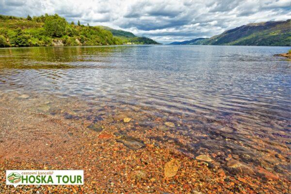 Jezero Loch Ness – zájezd do Skotska pro školy