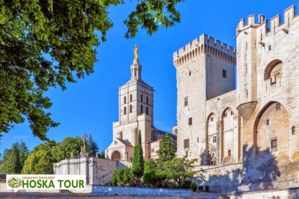 Katedrála a Papežský palác – Avignon