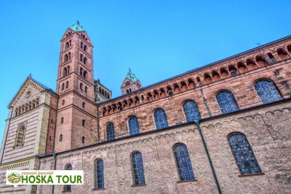 Katedrála ve městě Speyer