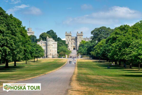 Královský hrad Windsor – školní zájezdy do Anglie