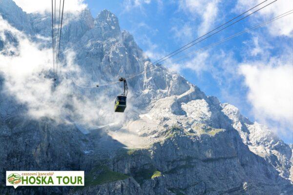 Lanovka na nejvyšší horu Německa – Zugspitze