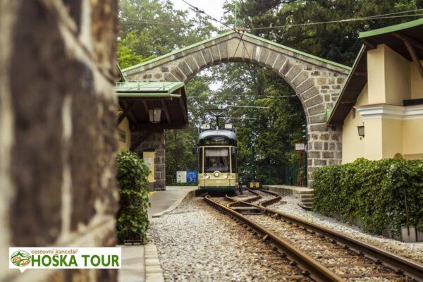 Linec – dráha Pöstlingbergbahn