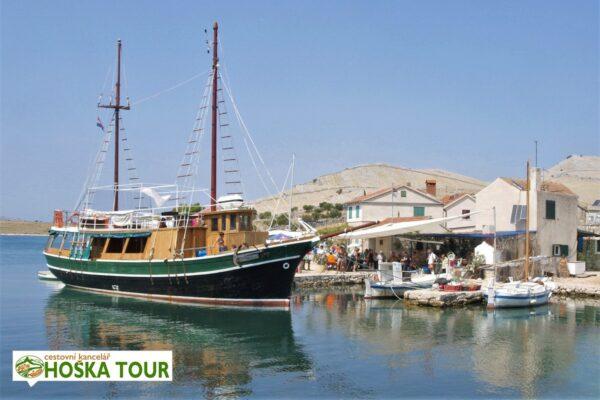 Lodní výlet na Kornati