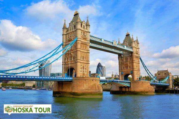 Londýn – most Tower Bridge