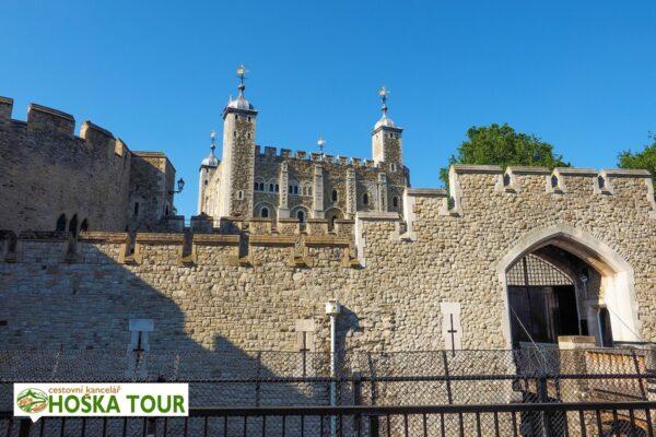 Londýn – pevnost Tower