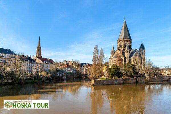 Město Mety ve Francii – školní zájezdy