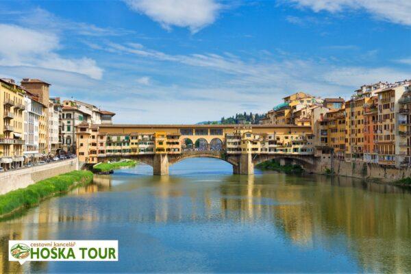 Most Ponte Veccio – prohlídka Florencie