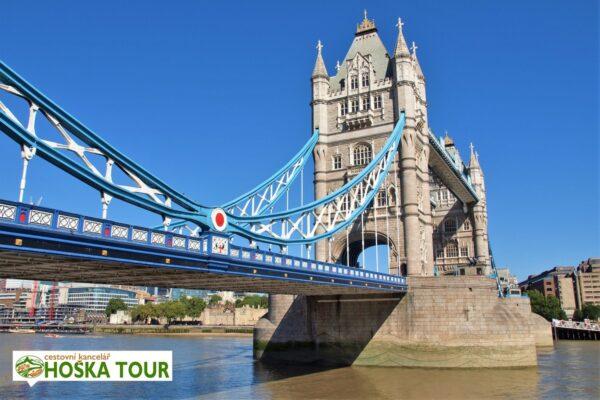 Most Tower Bridge – zájezdy pro školy