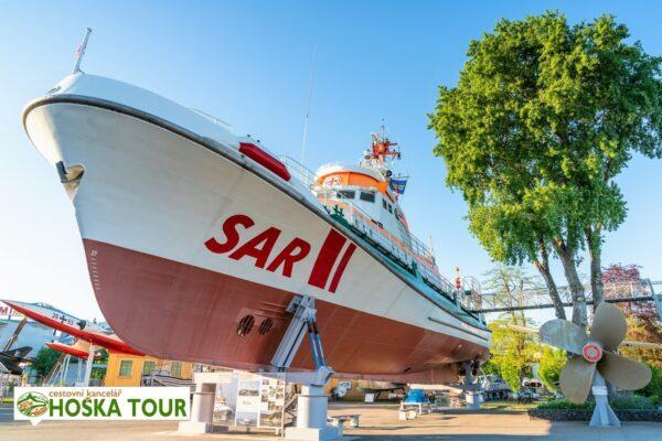 Muzeum Speyer – záchranářská loď