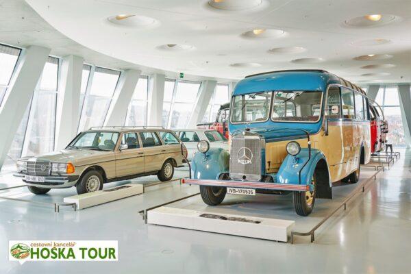 Muzeum značky Mercedes Benz – školní zájezd