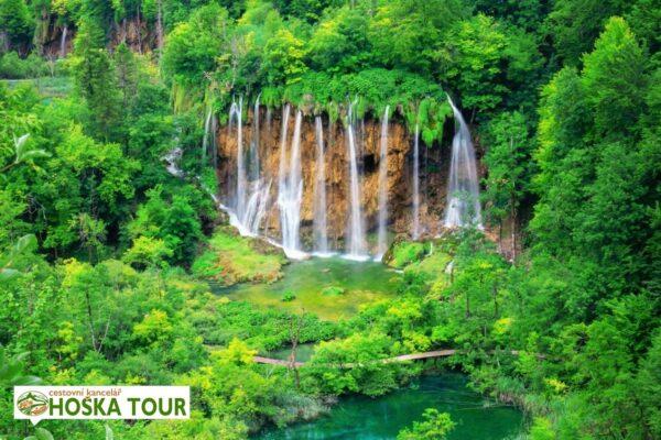 Národní park Plitvická jezera – zájezdy pro školy do Chorvatska