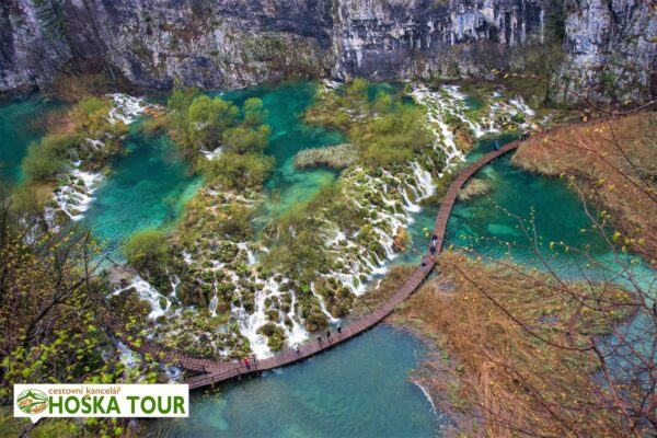 Plitvická jezera – školní zájezdy do Chorvatska