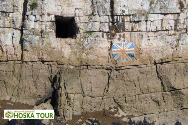 Pozůstatky pevnosti v Chepstow