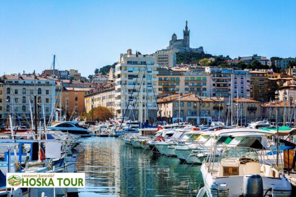 Přístaviště v Marseille
