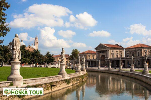Prohlídka centra města Padova