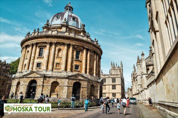 Prohlídka města Oxford – školní zájezdy do Velké Británie