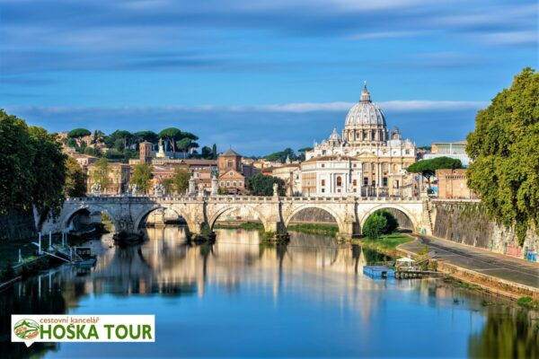 Řím a Vatikán – školní zájezd