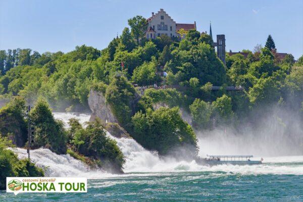 Rýnské vodopády – výlety pro školy do Švýcarska