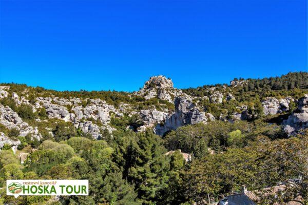 Skalní město Baux de Provence