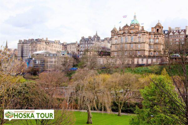 Školní zájezd do Skotska – centrum Edinburghu