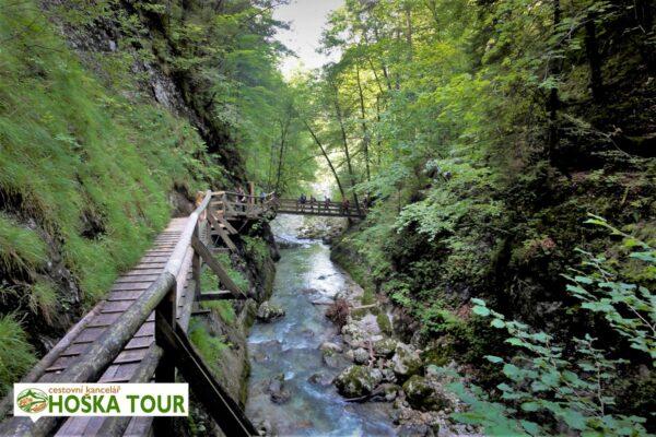 Soutěska Nothklamm v Národním parku Gesäuse – zájezd pro školy