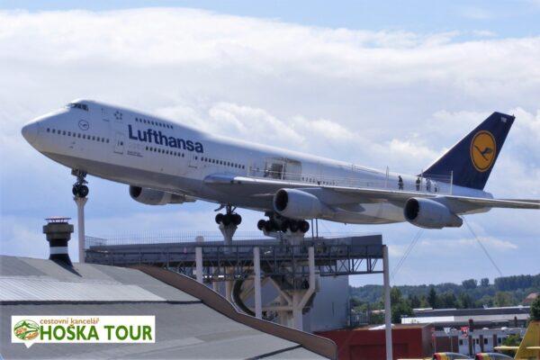 Speyer – Boeing 747 od společnosti Lufthansa