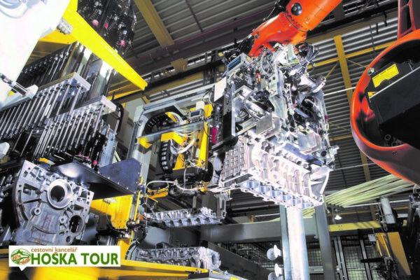 V továrně BMW v rakouském městě Steyr – exkurze pro školy