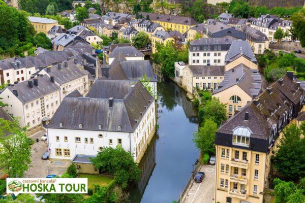Ve městě Lucemburk – školní zájezd