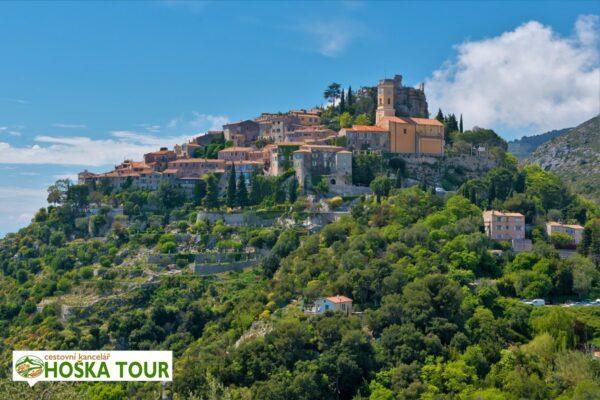 Vesnice Eze na jihu Francie – školní zájezdy do Provence