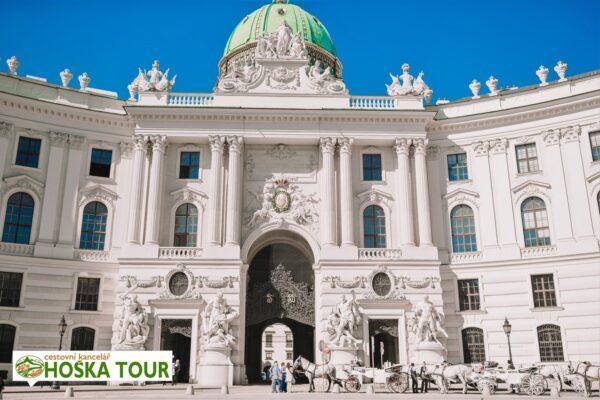 Vídeň – císařský palác Hofburg
