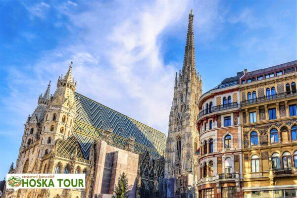Vídeň – katedrála svatého Štěpána