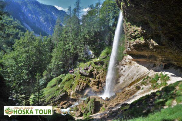 Vodopád Peričník – školní zájezdy do Slovinska