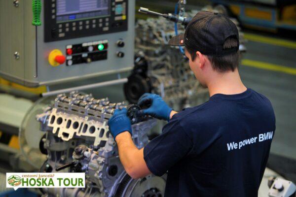 Výroba motorů BMW ve městě Steyr – exkurze pro školy
