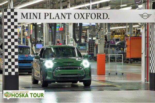 Výroba vozů Mini v Oxfordu – zájezdy a exkurze pro školy