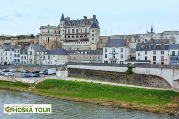 Zámek Amboise – údolí Loiry